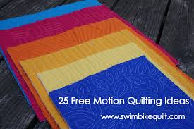 25 Free Motion Quilting Ideas: Part 1 &  Adamdwight.com
