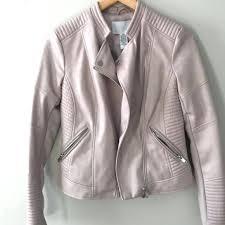 bar iii leather jacket blush leather jacket bar iii faux leather jacket