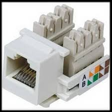 online buy whole cat5 keystone jack from cat5 keystone by dhl or ems2000 pieces punch down keystone jack cat5 network ethernet rj45 white cat5