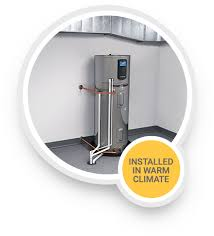rheem heat pump water heater. Perfect Heater Picture Of A Rheem Hybrid Electric Water Heater Installed In Warm Climate For Heat Pump E