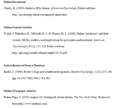 online format apa format examples tips and guidelines apa format example and