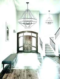 foyer lighting ideas contemporary decorating modern inside design large
