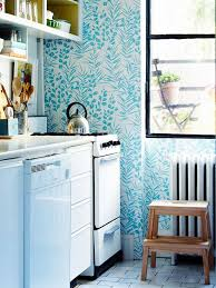 it inspired me to find a solution in the kitchen beauty fl wallpaper adds an unexpected touch for the modern kitchen or you can find more kitchen