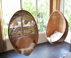 hanging wicker chair oval