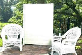 patio privacy screens for patio home depot shades outdoor create an garden h willow twig screen