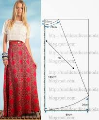 Long Skirt Pattern