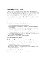 responsibilities of a nanny for resumes nanny responsibilities on resume resume responsibilities a nanny for