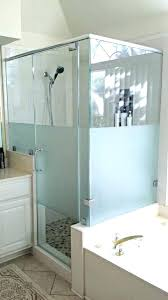 best shower door glass cleaner best shower door cleaner frosted glass cleaning inspired ideas for designs