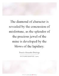 Concussion Quotes Enchanting The Diamond Of Character Is Revealed By The Concussion Of