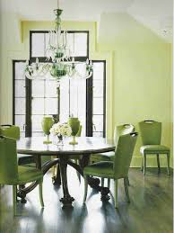 green dining room furniture. On Home Green Dining Room Furniture Ideas Natural Light Helps Give A An Undeniable Appeal The Deep Sage Walls Enhances Effect Leather Parsons Chairs 7 I