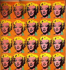 is called as marilyn diptych that painted by andy warhol he drew the picture after four months of marilyn in 1962 marilyn monroe was the most