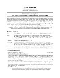 System Engineer Resume Example Examples Of Resumes