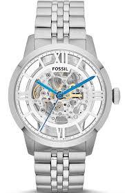 men s fossil townsman automatic skeleton watch me3044