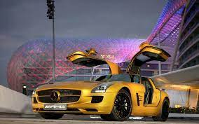 Golden Cars Wallpapers - Wallpaper Cave