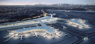 architectural buildings designs. CREATING A MODERN NEW YORK TRAVEL EXPERIENCE: LAGUARDIA AIRPORT\u0027S  TERMINAL B Architectural Buildings Designs