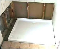 redi tile shower pan custom pans ready base kit installation problems reviews maax s redi tile shower pan