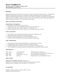 Office Administration Resume Objective Updated Project Manager