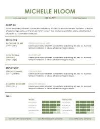 modern resume templates in word •  skilful
