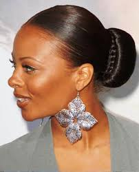 Black Women Hair Style pictures of sleek bun hairstyle for black women 8144 by wearticles.com