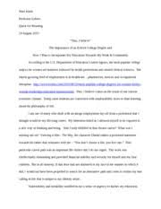 reflective essay mountains beyond mountains kittle mari 8 pages this i believe