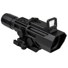 simmons red dot scope. ncstar vadobp3942g 3-9x42mm integrated red dot p4-sniper reticle scope, black simmons scope 0