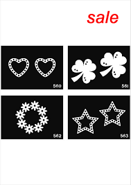 500 sheets mixed designs tattoo template stencils for art painting glitter tattoo kits free