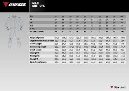 Dainese Race Suit Size Chart 55 Detailed Dainese Jackets Sizing Chart