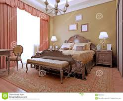 Expensive Bed Expensive Bedroom Art Deco Style Stock Photo Image 59222284