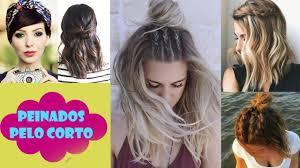 Peinados Para Cabello Corto 2017 Faciles Y Rapidos Para Cortes