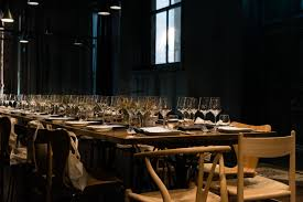 space furniture melbourne. Supper With Vipp (Melbourne) | Iki-Jime Is A Moody Dark Space, Complete  With Gauzy Black Curtains, Taupe Banquettes And Zinc Detailing. Space Furniture Melbourne