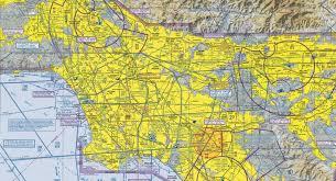 Airspace Around Los Angeles