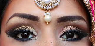 how to do indian bridal eye makeup