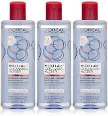 amazon has the super por l oreal paris micellar cleansing water normal to dry skin cleanser makeup remover 13 5 fl oz down to the lowest