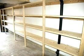 building wood shelves for garage wood storage shelves view larger plans for garage storage wood shelves