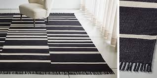 roland striped cotton rug