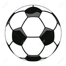 サッカー ボールのクリップアートのベクトル イラスト