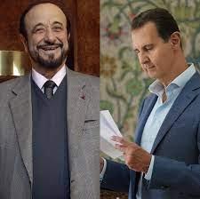 رفعت الأسد يهنّئ الرئيس بشار الأسد لفوزه بالانتخابات – شبكة غلوبال الاعلامية