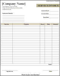 Free Plumbing Invoice Template Printable Invoices 100 Sample Printable Invoices Printable Free Free 17