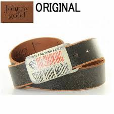 johnny be good janie b good leather belt cowhide black black black logo lady s men men