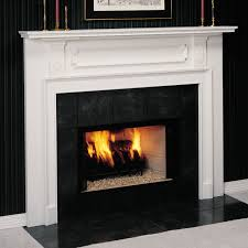 view gallery the portsmouth is a classic american wood fireplace mantel