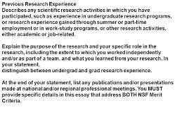 fellows receive the following annual stipend for three  17 previous research experience