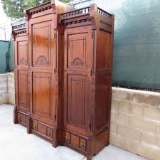 antique furniture armoire. antique armoire cabinet victorian furniture eastlake