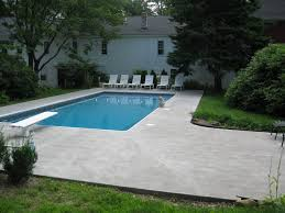 Walk In Pools Rectangle In Ground Pool W 16 Walk In Stairs Lavoie Pools