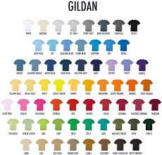 Gildan Shirt Color Chart 2016 Index Of Images