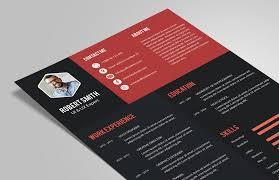 Creative Resume Best Creative Resume CV Design Template PSD File Good Resume