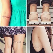 Small Quote Tattoos Popsugar Smart Living