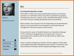 Resume Bio Example Interesting Sample Resume Real Estate Bio Examples Short Bio Template Real