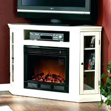 capitan electric fireplace tv stand in stone 23mm10646 i613 modern fireplaces aces ace corner
