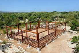 fondation maison ossature bois