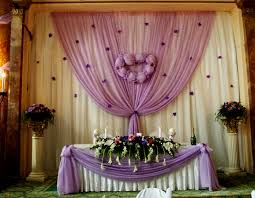 wall decorations for wedding reception
